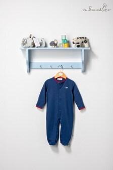 The Essential One Baby Boys True Navy Sleepsuit