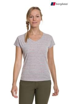 Berghaus Grey Explorer Optic Tech T-Shirt