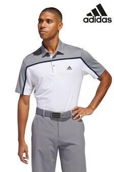 adidas Golf Ultimate 365 Block Stripe Polo