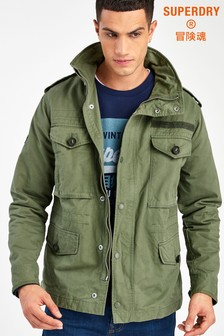 Superdry Green Field Jacket