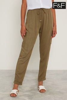 F&F Green Utility Trousers