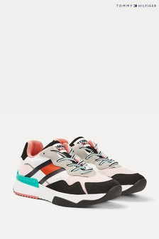 Tommy Hilfiger Pink Sustainable Runner Trainers