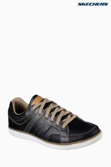 Skechers® Black Lanson Torben Low Profile Lace-Up