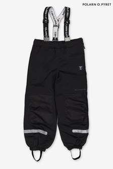 Polarn O. Pyret Black Waterproof Shell Trousers