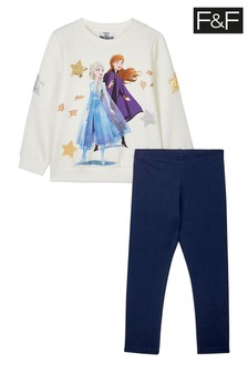 F&F Pink Disney™ Frozen Sweat Set