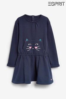 Esprit Navy Cat Face Dress