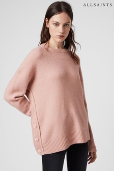 AllSaints Pink Rufa Jumper