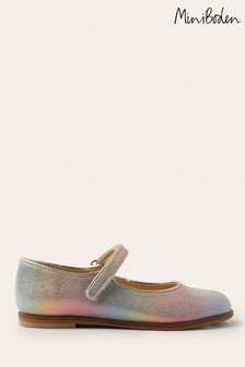 Boden Metallic Sparkle Mary Jane Shoes