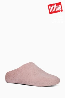 FitFlop™ Pink Furry Slippers