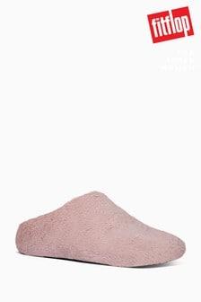 FitFlop™ Flauschige Hausstiefel, rosa