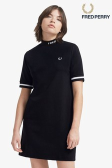 Fred Perry High Neck Dress