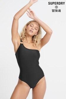 Superdry Edit One Shoulder Swimsuit