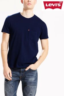 Levi's® Sunset Pocket Saturated Indigo Tee