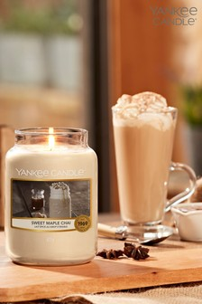 Yankee Candle Classic Large Sweet Maple Chai Candle