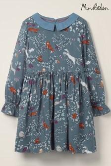 Boden Blue Woodland Printed Dress