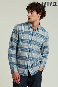 FatFace Blue Campden Check Shirt