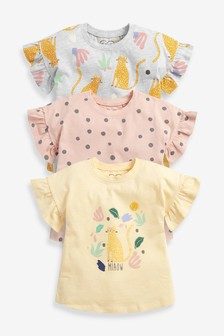 3 Pack Character T-Shirts (3mths-7yrs)