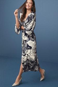 Платье-кимоно для особых случаев