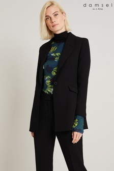 Damsel In A Dress Black Margot City Suit Jacket