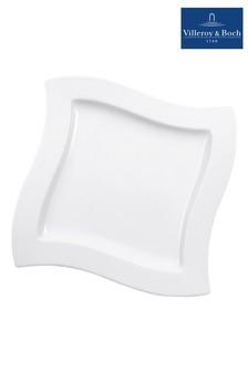 Villeroy & Boch White NewWave Dinner Plate
