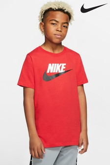 Nike Red Futura Icon T-Shirt
