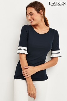 Lauren Ralph Lauren® Kasosha Sleeve Detail Top