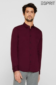 Esprit Long Sleeved Woven Shirt With Button Detail
