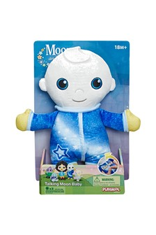 Moon and Me Talking Moon Baby Soft Toy