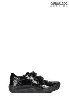 Черные туфли для девочек Geox Hadriel