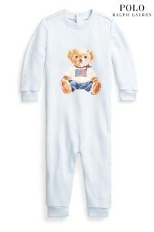 Ralph Lauren Blue Bear Babygrow
