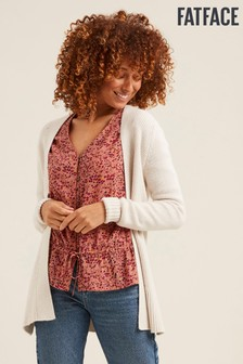 FatFace Natural Haywood Cardigan
