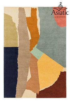 Reef Wool Abstract Rug by Asiatic Rugs