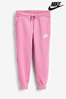 Nike Pink Premium Essentials Joggers
