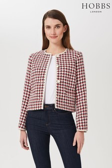Hobbs Red Tafara Jacket