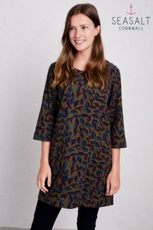Seasalt Green Port Gaverne Tunic