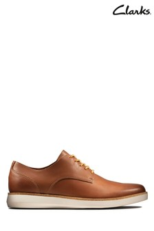 Clarks Tan Fairford Run Shoe
