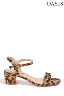 Oasis Animal Dolly Low Heeled Sandal