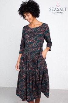 Seasalt Blue Folk Tale Dress