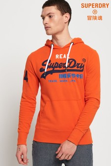 Superdry Vintage Logo Tri Colour Lite Hoody