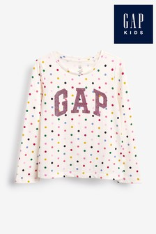 Gap Ivory Logo T-Shirt