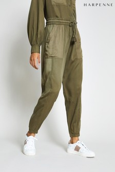 Harpenne Khaki Cargo Trousers