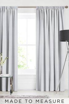 Soho Nordic Grey Made To Measure Curtains