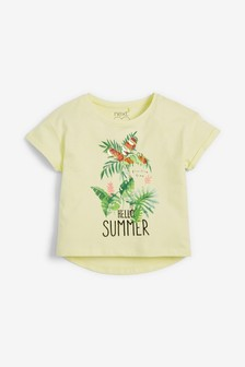 Sequin Palm Graphic T-Shirt (3-16yrs)