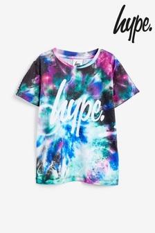 Hype. Galaxy Collide T-Shirt im Bänderdesign