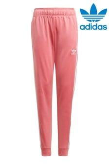 adidas Originals Pink Superstar Joggers