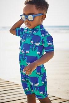 Printed Sunsafe Swimsuit (3mths-7yrs)