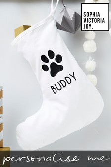 Personalised Pet Christmas Stocking by Sophia Victoria Joy