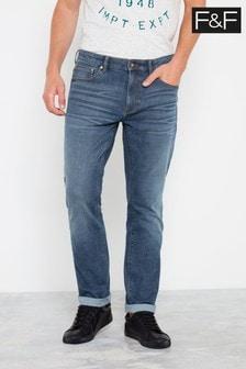 F&F Mid Wash Bi Stretch Jeans