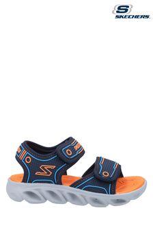 Skechers® Blue Hypno-Flash 3.0 Sandal Velcro Trainers