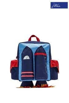 Синий рюкзак на молнии Joules